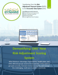 Demystifying CMS' New Risk Adjustment Scoring System